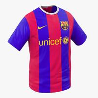 3d t-shirt barcelona