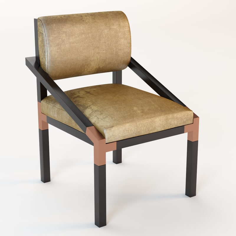 ch-144 dining chair 3d max