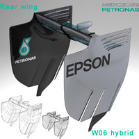 3ds rear wing w06