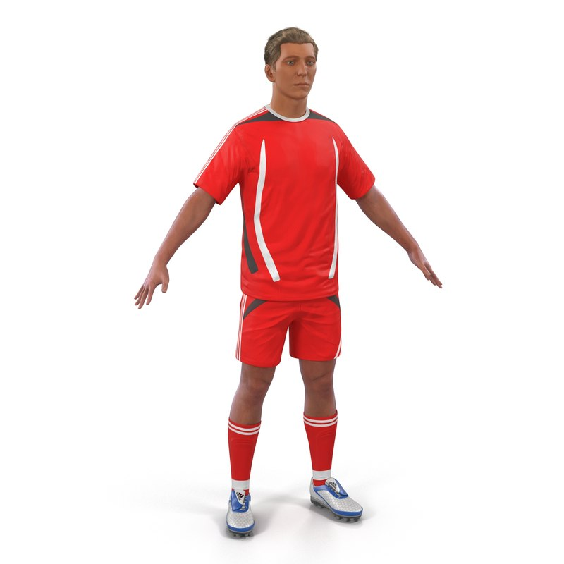 max soccer player generic hair