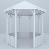 3d model garden design