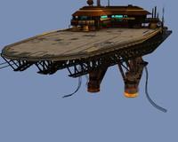 Landing Platform Scifi