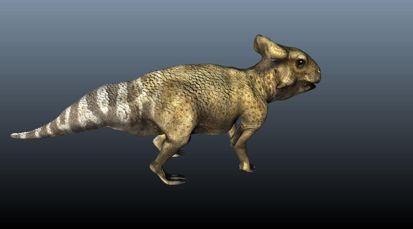 obj protoceratop