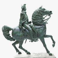 washington equestrian statue max
