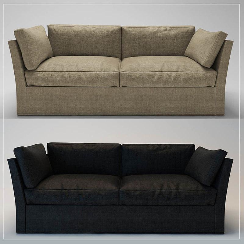 sofa meridiani quinn max