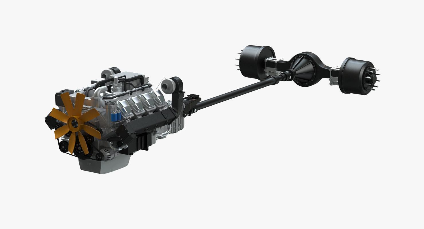 truck powertrain max