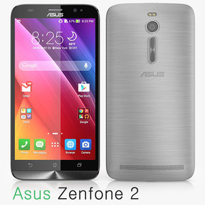 asus zenfone 2 3d model