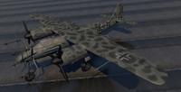 plane - ta-154 a-0 3d model