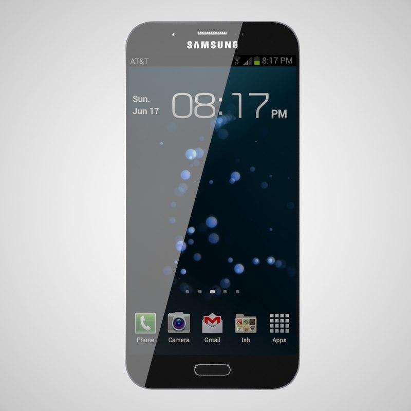 samsung galaxy a8 3d model