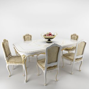 max venezia table chairs