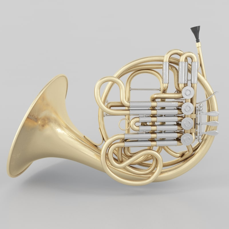 3ds french horn