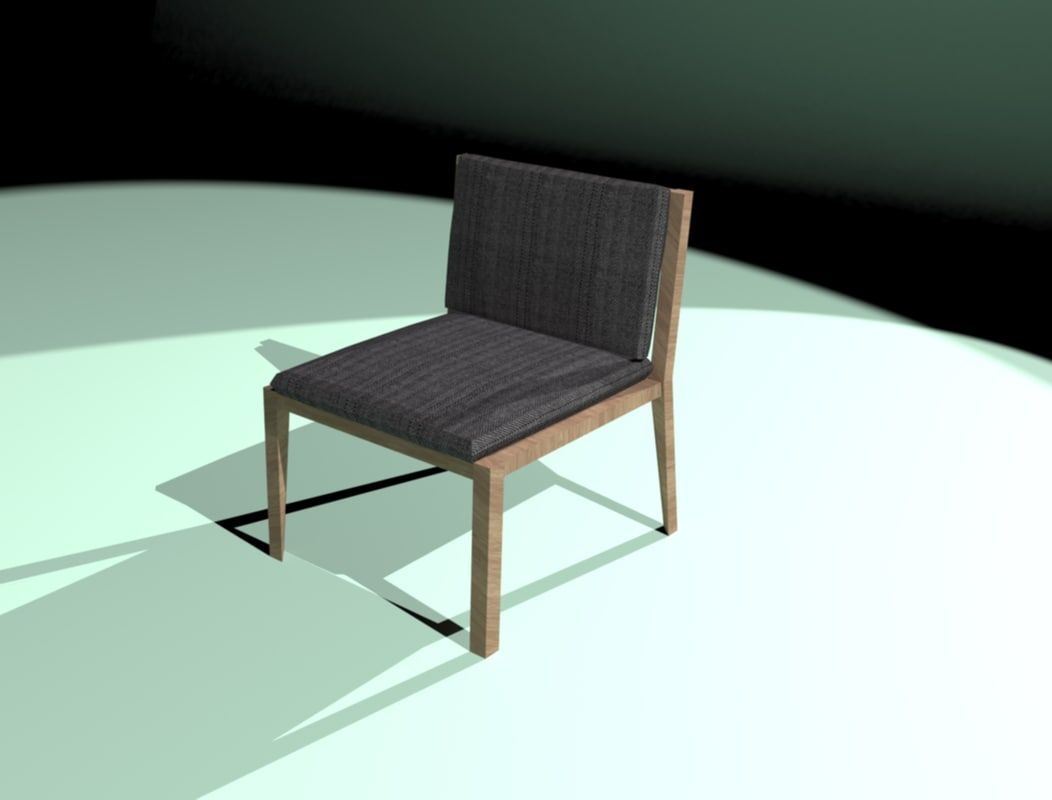 free max model chair polys