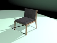 Low Poly Chair