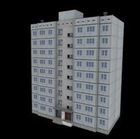 Panel Tenement 9 Floor