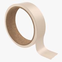 3d model masking tape 2