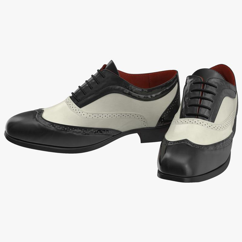 3d wingtip shoes
