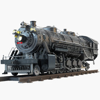 4 8 2 Frisco Steam Train locomotive