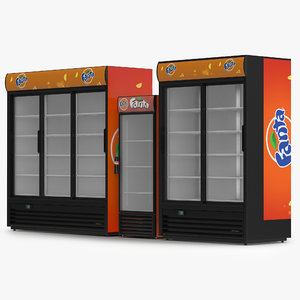 3d fanta refrigerators