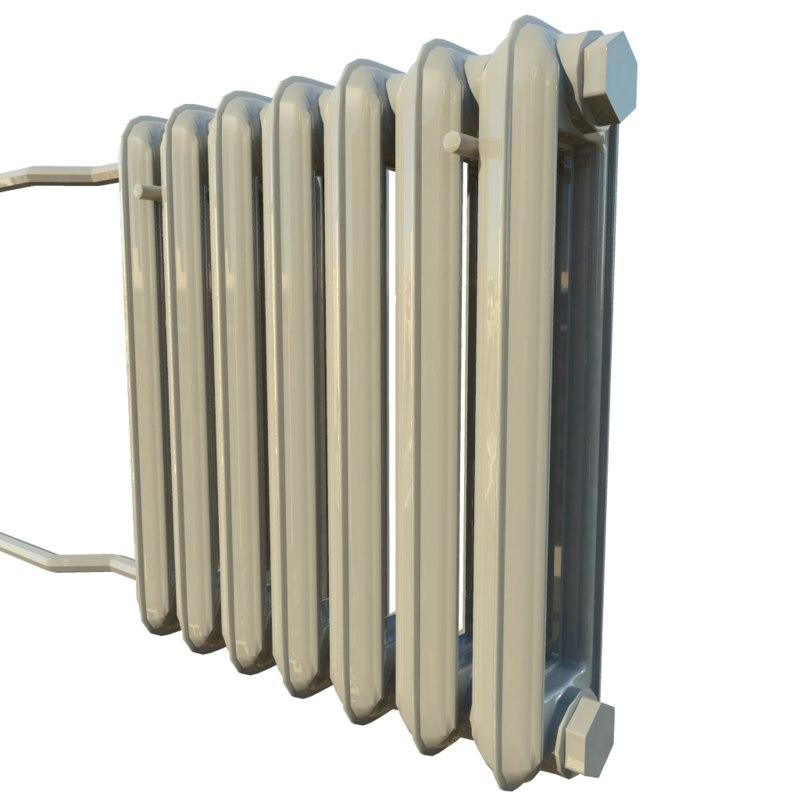 free home radiator 3d model