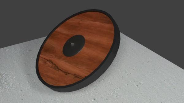 free obj model shield