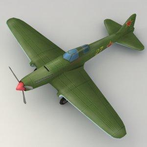 3d model warplane il-2