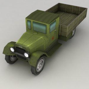 3d lorry