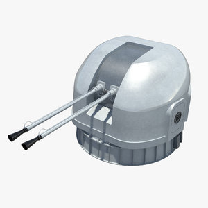 3d model of type 76a 37mm turret