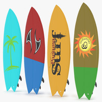 Surfboard Fish Collection