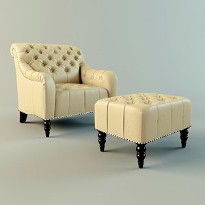 tufted leather max