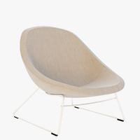 mute chair 3d model