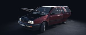 3d car rig