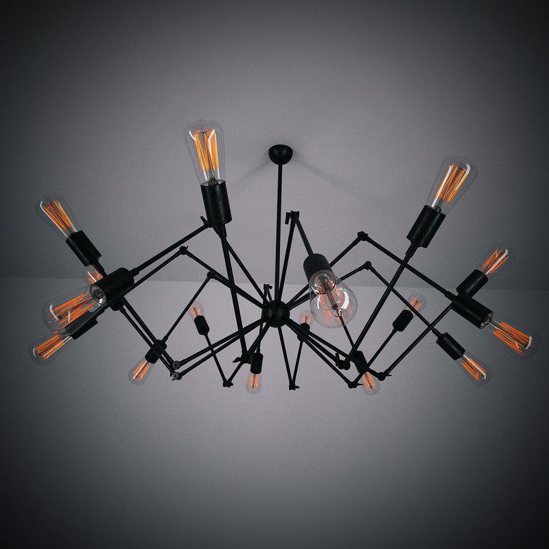 lamp loft 3d model