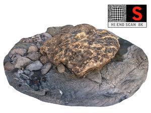 maya rock scan hd 8k