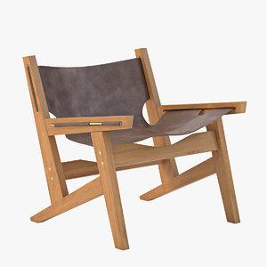 peninsula chair 3d model