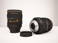 nikon lens 3d max