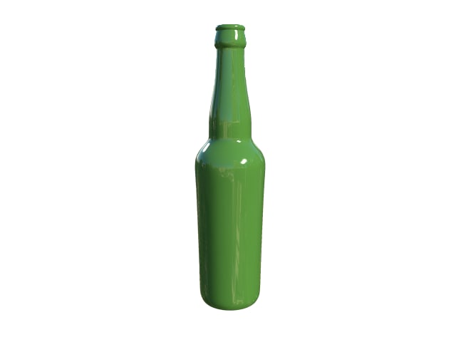 bottle beer obj free