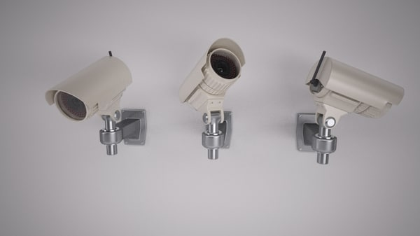 3d max security camera