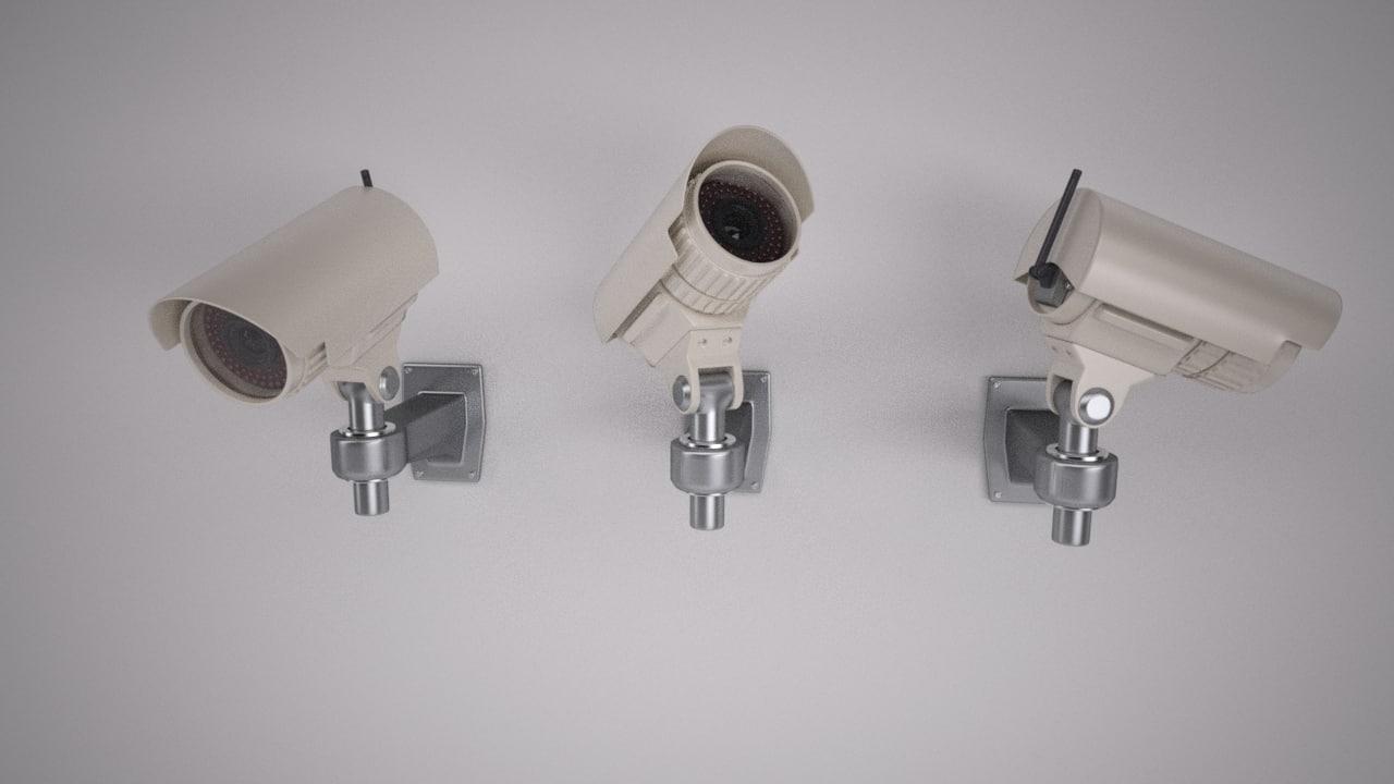3d max security camera