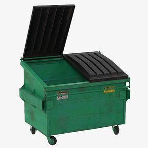 dumpster realistic 3d model