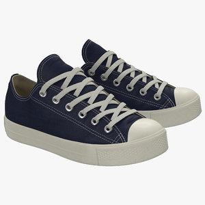 3d sneakers 2 generic modeled