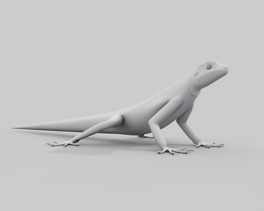 3ds lizard