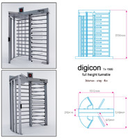 3d digicon turnstile model