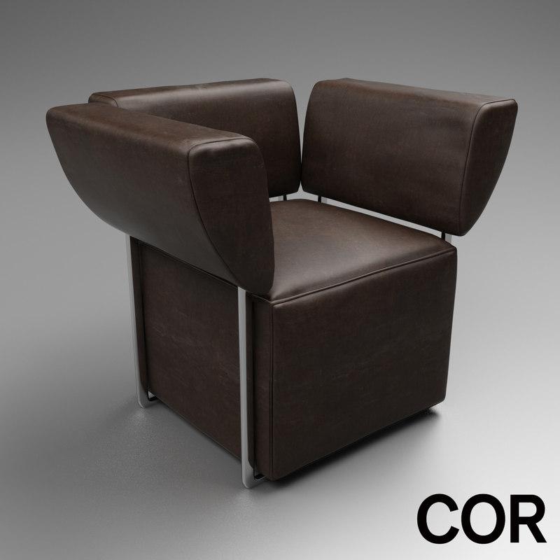 3d cor model