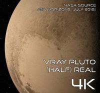 Vray Pluto (Half) Real 4K
