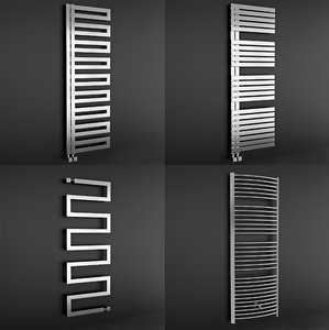 bathroom radiators 3d model