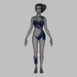 3d model witch character
