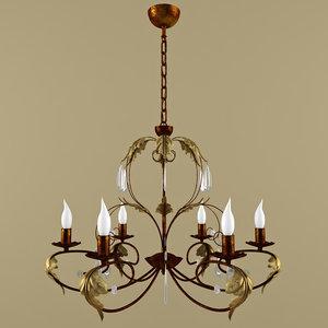 lampadari lamp 3d max
