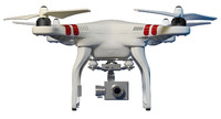 quadcopter drone 3d model