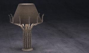3d elvanos lamp 2015 model