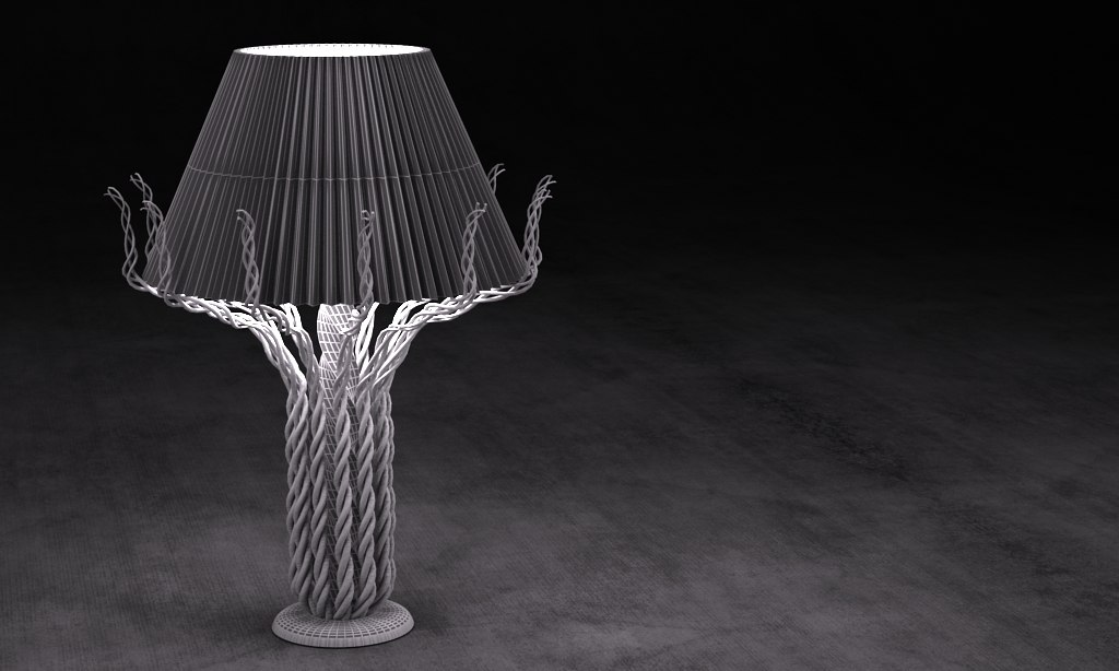 elvanos lamp 2015 raw 3d model